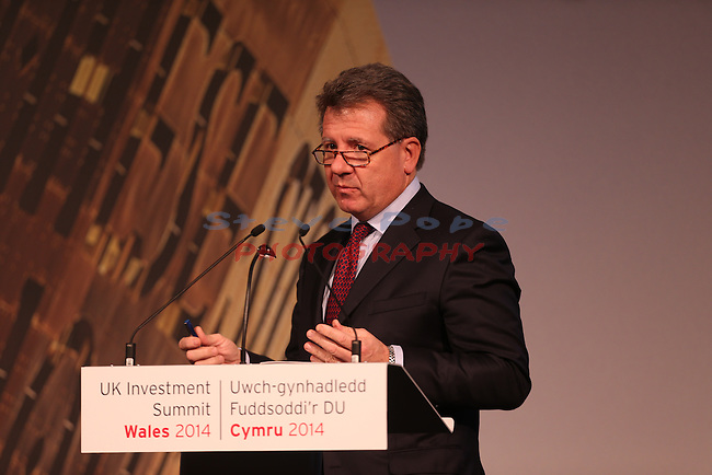 UK Investment Summit 2014<br /> Celtic Manor Resort<br /> 21.11.14<br /> &copy;Steve Pope -FOTOWALES