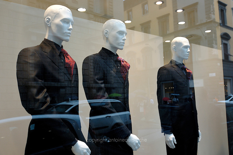 vetrine, manichini, shop window, mannequins