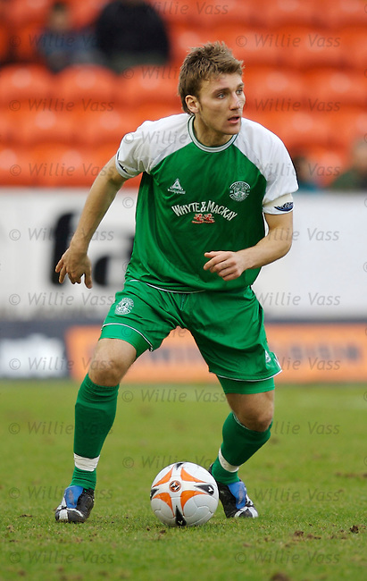 Chris Hogg, Hibs.stock season 2006-2007.pic willie vass
