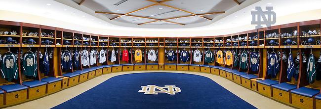Oct. 19, 2011; Hockey locker room, Compton Family Center Arena..Photo by Matt Cashore/University of Notre Dame