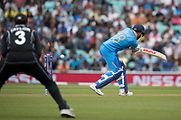 Virat Kolli (India) is bowled by Colin de Grandhomme (New Zealand) during India vs New Zealand, ICC World Cup Warm-Up Match Cricket at the Kia Oval on 25th May 2019