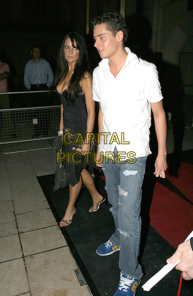 CHRIS PARKER.FHM 100 Sexiest Women Party, Guildhall, .London,.3rd June 2004..full length full-length white shirt jeans walking .www.capitalpictures.com.sales@capitalpictures.com.©Capital Pictures