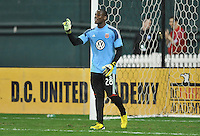Bill Hamid of D.C. United during pre-game warmups, D.C. United defeated Real Salt Lake 1-0 in their home opener, at RFK Stadium, Saturday March 9,2013.