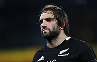 Samuel Whitelock of the All Blacks during the Rugby Championship match between Australia and New Zealand at Optus Stadium in Perth, Australia on August 10, 2019 . Photo: Gary Day / Frozen In Motion