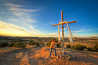 "At one of my ""special places"" in Santa Fe - I visit this powerful spot every time I am in N New Mexico!"