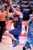 FC Barcelona Regal's Marcelinho Huertas during Liga Endesa ACB match.January 13,2012. (ALTERPHOTOS/Acero)