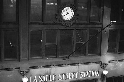 LaSalle Street Station Clock