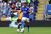 Ayoze Perez of Leicester City and Jonny of Wolverhampton Wanderers during Leicester City vs Wolverhampton Wanderers, Premier League Football at the King Power Stadium on 11th August 2019