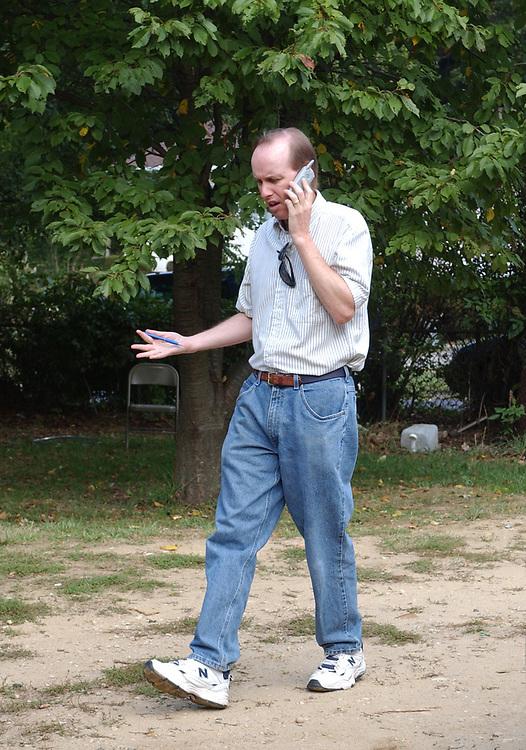 Bart Jones in Farmingville on Monday October 3, 2005. (Photo / Jim Peppler).
