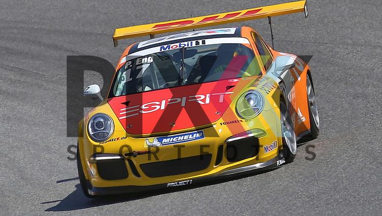 Barcelona, 10.05.15, Motorsport, Porsche Mobil 1 Supercup 2015 : Philipp Eng (Team Project 1, #17)<br /> <br /> Foto &copy; P-I-X.org *** Foto ist honorarpflichtig! *** Auf Anfrage in hoeherer Qualitaet/Aufloesung. Belegexemplar erbeten. Veroeffentlichung ausschliesslich fuer journalistisch-publizistische Zwecke. For editorial use only.
