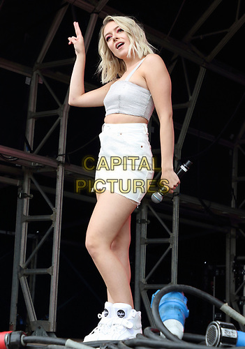 Lauren Rammell of Four of Diamonds perform on Day Two of British Summertime at Hyde Park, London on July 6th 2019<br /> CAP/ROS<br /> ©ROS/Capital Pictures