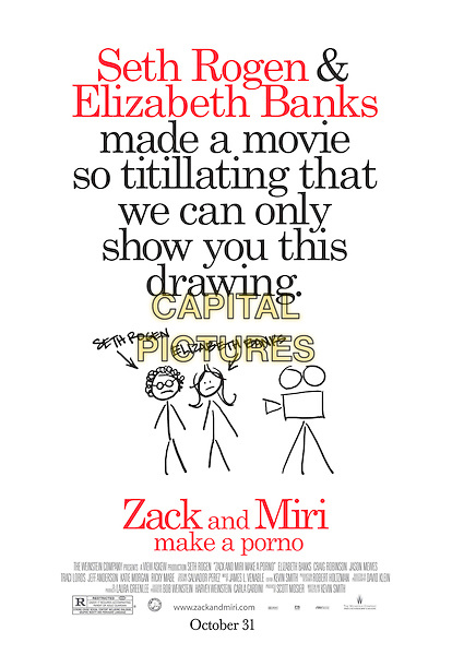 POSTER ART.in Zack and Miri Make a Porno.*Filmstill - Editorial Use Only*.CAP/FB.Supplied by Capital Pictures.