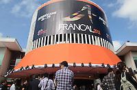 SAO PAULO, 26 DE JUNHO DE 2012 - ABERTURA FRANCAL 2012 - Movimentacao ma abertura da Francal 2012, na manha desta terca feira, no Anhembi, regiao norte da capital. FOTO: ALEXANDRE MOREIRA - BRAZIL PHOTO PRESS