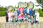 LOCAL HISTORY: Celebrating Local History with Donal O'Connor (Tarbert Historian) and Bob Duff manager at Glin Castle were a group of teachers from The Tarbert Education Support Centre. They visited Glin Castle on Monday as part of their week long 2009 summer courses.