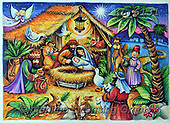Interlitho-Theresa, HOLY FAMILIES, HEILIGE FAMILIE, SAGRADA FAMÍLIA, paintings+++++,holy family, 3 kings,KL6131,#xr#