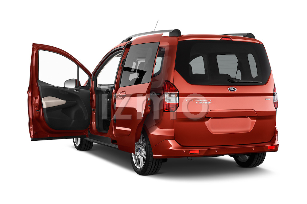 Car images of a 2015 Ford Tourneo Courier Titanium 5 Door Minimpv Doors