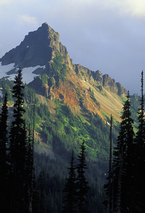 Pinnacle Peak, Tatoosh Range, Mount Rainier National Park, Washington