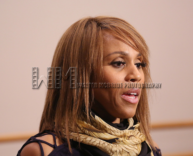 Deborah Cox performs during North American Premiere presentation of 'The Bodyguard' at The New 42nd Street Studios on November 10, 2016 in New York City.
