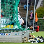 AMSTELVEEN  -  Wiegert Schut (Adam)  Hoofdklasse hockey ,competitie, heren, Amsterdam-Pinoke (3-2)  . COPYRIGHT KOEN SUYK