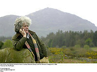 Kerry Writer John Moriarty pictured at home in Coolies, Muckross, Killarney with Torc Mountain in background in 2006.<br /> Picture by Don MacMonagle<br /> <br /> &copy; macmonagle.com<br /> email: info @macmonagle.com