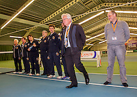 Rotterdam, The Netherlands, March 20, 2016,  TV Victoria, NOJK 14/18 years, umpires<br /> Photo: Tennisimages/Henk Koster