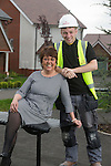 Redrow Homes<br /> Petra and Nathan Foley<br /> 02.05.14<br /> &copy;Steve Pope-FOTOWALES