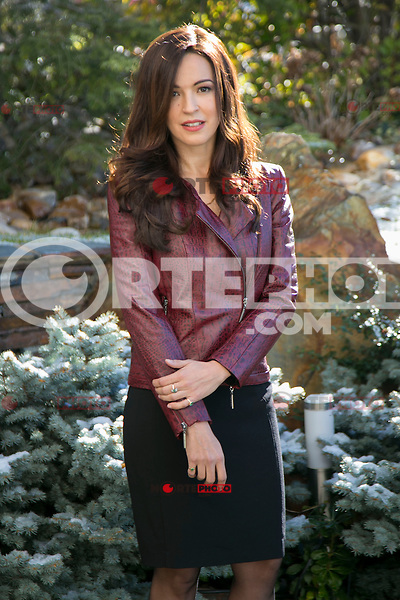 """Veronica Sanchez attend the """"WITHOUT IDENTITY"""" (Sin identidad) Second Season presentation on the set in Madrid, Spain. January 19 2015. (ALTERPHOTOS/Carlos Dafonte) / NortePhoto<br /> / NortePhoto.com"""