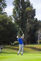 Richard Lee. Day two of the Jennian Homes Charles Tour / Brian Green Property Group New Zealand Super 6s at Manawatu Golf Club in Palmerston North, New Zealand on Friday, 6 March 2020. Photo: Dave Lintott / lintottphoto.co.nz