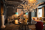 The Kips Bay Decorator Show House invited twenty one designers and architects to transform a luxury Manhattan townhouse for a benefit to the Kips Bay Boys & Girls Club. <br /> <br /> Pictured, design by Garrow Kedigian Interior Design<br /> <br /> Danny Ghitis for The New York Times