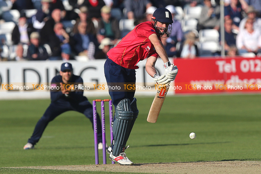 Alastair Cook in batting action for Essex during Essex Eagles vs Middlesex, Royal London One-Day Cup Cricket at The Cloudfm County Ground on 12th May 2017