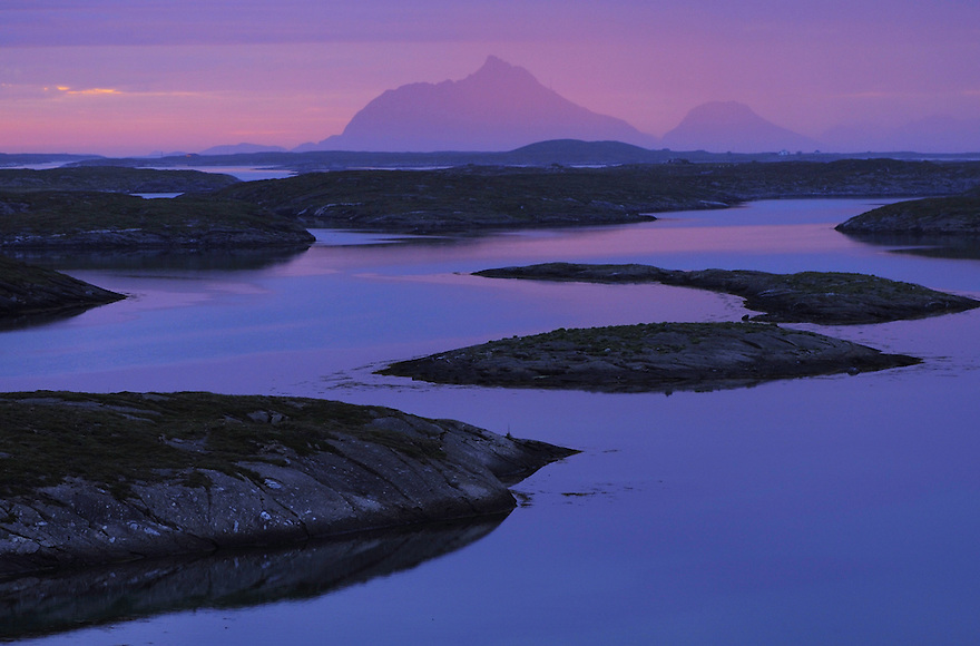Lovund islands, Sleneset, Helgeland, Norway