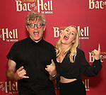 "Jay Scheib and Xena Gusthart during Jim Steinman's ""Bat Out of Hell - The Musical"" - Open Rehearsal at New York City Center on July 30, 2019 in New York City."