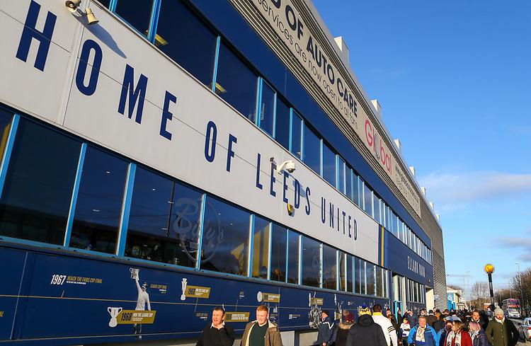 A general view of Elland Road, home of Leeds United FC<br /> <br /> Photographer Alex Dodd/CameraSport<br /> <br /> The EFL Sky Bet Championship - Leeds United v Norwich City - Saturday 2nd February 2019 - Elland Road - Leeds<br /> <br /> World Copyright © 2019 CameraSport. All rights reserved. 43 Linden Ave. Countesthorpe. Leicester. England. LE8 5PG - Tel: +44 (0) 116 277 4147 - admin@camerasport.com - www.camerasport.com