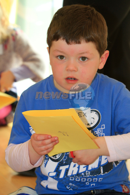 Alex Murtagh.at the Highlanes workshop and Easter egg hunt..Picture Fran Caffrey www.newsfile.ie..
