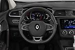 Car pictures of steering wheel view of a 2019 Renault Kadjar Black-Edition 5 Door SUV