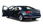 Car images close up view of a 2020 Skoda Superb Ambition 5 Door Hatchback doors