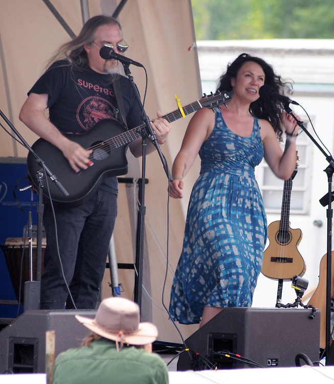 ilyAIMY, performing on the Workshop Stage of the Falcon Ridge Folk Festival, held on Dodd's Farm in Hillsdale, NY on Sunday, August 2, 2015. Photo by Jim Peppler. Copyright Jim Peppler 2015.