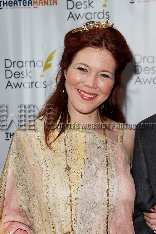 Kim Martin Cotton pictured at the 57th Annual Drama Desk Awards held at the The Town Hall in New York City, NY on June 3, 2012. © Walter McBride