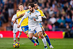 Isco Alarcon of Real Madrid in action during the La Liga 2017-18 match between Real Madrid and UD Las Palmas at Estadio Santiago Bernabeu on November 05 2017 in Madrid, Spain. Photo by Diego Gonzalez / Power Sport Images