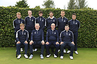 Interprovincial Championship Teams.<br /> Leinster Golf:<br /> team Captain Seamus McParland<br /> Alan Fahy, Eugene Smith, Robert Brazill, Robert Cannon, Jonathan Yates, Charlie Denvir.<br /> Front: Robert Moran team Captain Seamus McParland, John Cullen and Caolan Rafferty.<br /> <br /> During the Interprovincial Championship 2018, Athenry golf club, Galway, Ireland. 30/08/2018.<br /> Picture Fran Caffrey / Golffile.ie<br /> <br /> All photo usage must carry mandatory copyright credit (&copy; Golffile | Fran Caffrey)