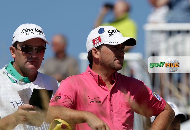 Graeme MCDOWELL (NIR) during round two of  The 142th Open Championship Muirfield, Gullane, East Lothian, Scotland 19/7/2013<br /> Picture Eoin Clarke www.golffile.ie: