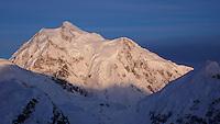 Mount Hunter from the Kahiltna Glacier, Alaska Range