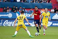 Unai Garcia (defender; CA Osasuna) during the Spanish <br /> la League soccer match between CA Osasuna and CD Lugo at Sadar stadium, in Pamplona, Spain, on Saturday, <br /> April 28, 2018.