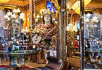 Antique furniture store, Rome, Italy
