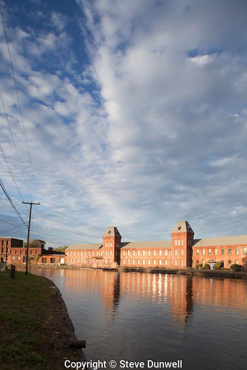 Crocker Paper Mill, second level canal, Holyoke, MA