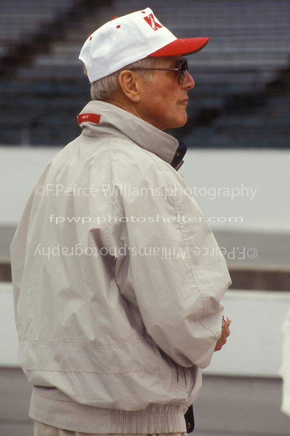 Team owner Paul Newman.