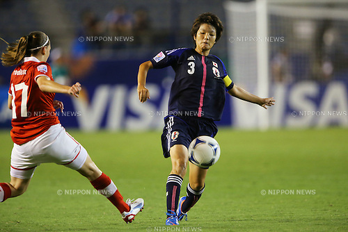 Shiori Kinoshita (JPN), .AUGUST 26, 2012 - Football / Soccer : .FIFA U-20 Women's World Cup Japan 2012, Group A .match between Japan 4-0 Switzerland .at National Stadium, Tokyo, Japan. .(Photo by Daiju Kitamura/AFLO SPORT) [1045]