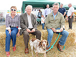 Amanda Larkin, Hal Sloan, John Larkin and Judy pictured at the Wee County Fair. Photo:Colin Bell/pressphotos.ie