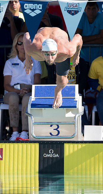 Michael Phelps, Men's 200 Meter Freestyle<br />