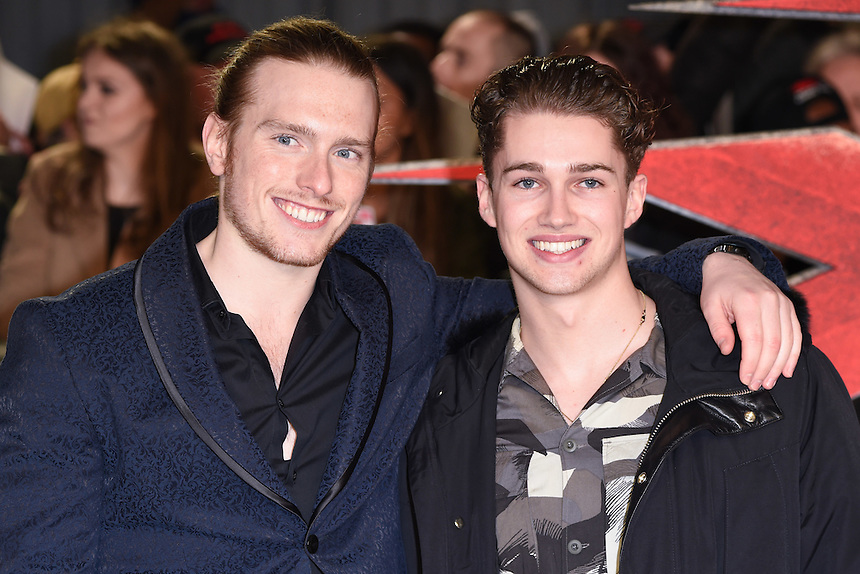 AJ Pritchard<br /> at the &quot;xXx: Return of Xander Cage&quot; premiere at O2 Cineworld, Greenwich , London.<br /> <br /> <br /> &copy;Ash Knotek  D3216  10/01/2017